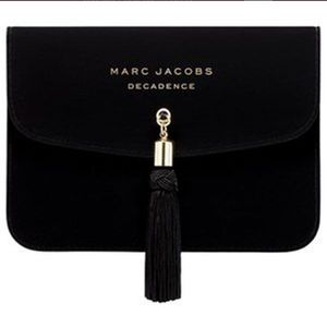 NWOT Marc Jacob's Black Velvet Clutch with tassel
